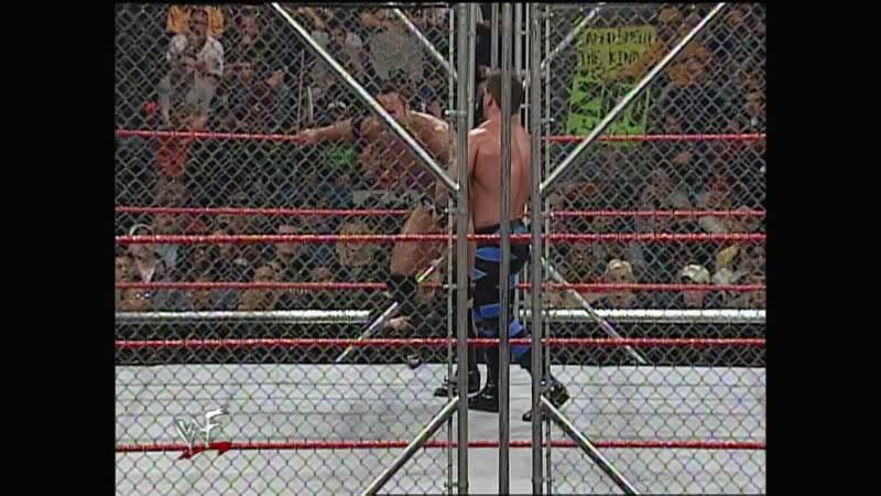 WWF Raw Is War 06 03 2000 Chris Benoit vs the Rock