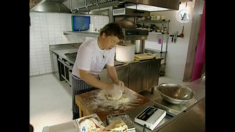 Жить вкусно с Джейми Оливером 52 серия Ночная смена The Night Shift кальцони хлебный рулет пицца