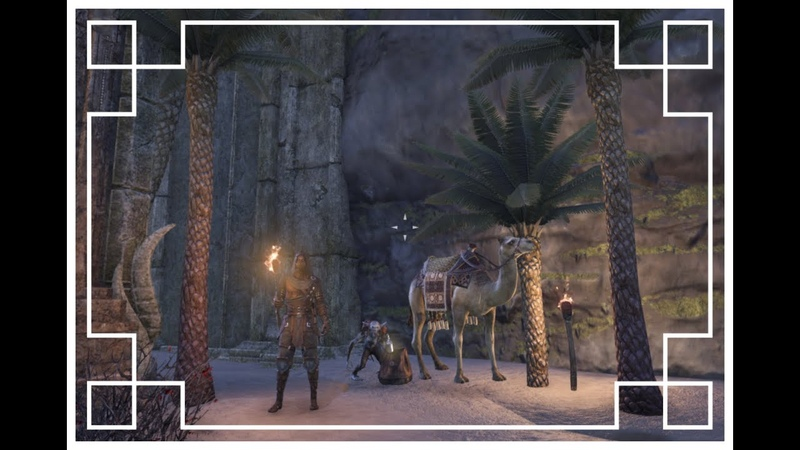 ESO Housing Derpa And Tezzer's Ancient Tomb