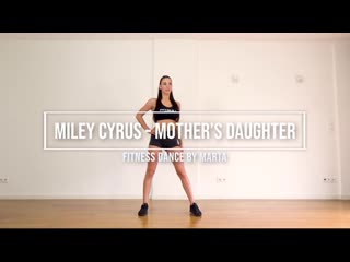 Mothers daughter miley cyrus fitness dance