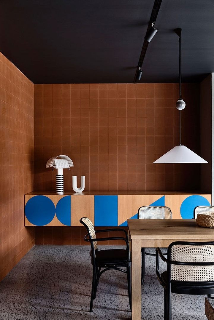 Интересный дом в духе модернизма в Мельбурне  || 01