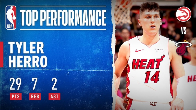 Tyler Herro Goes OFF For 29 PTS 19 in 2Q