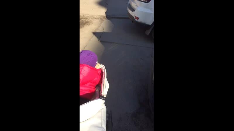 Гулянье с папой