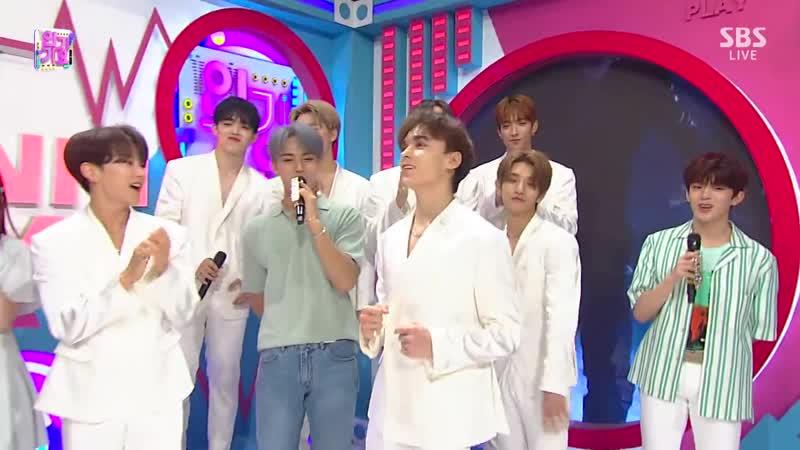 SBS 인기가요 1013회 (일) 2019-08-11 오후3시50분