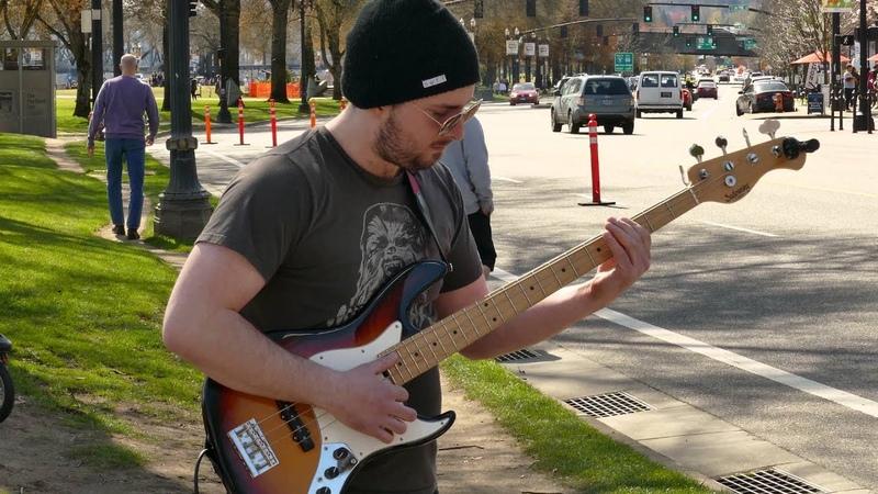 Bass Guitar Bucket Drummer - Song : Flip Flop. . . .