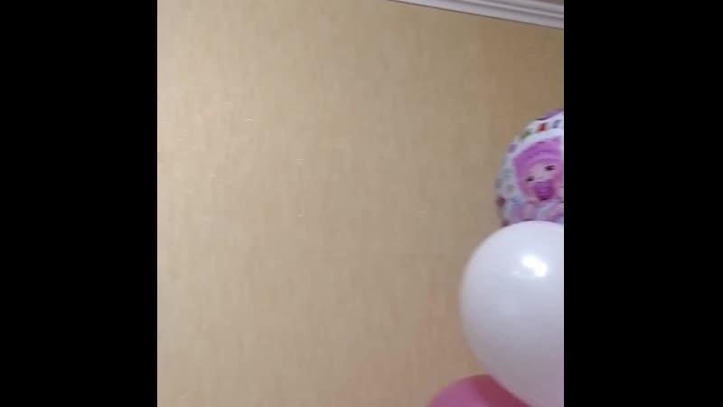 Гелиевые шары Краснодар 🎈🎈🎈 Вот такой красотой папа встречает своих любимых девочек из роддома 🤗 🎈 С любовью Ваши 23shara.ru❤