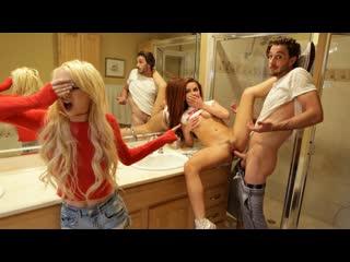 Kenzie Reeves Vanna Bardot - Sharing My Step Sisters Friend - BrattySis секс, минет, порно