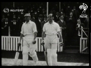 Jack Hobbs retires from first-class cricket (1935)