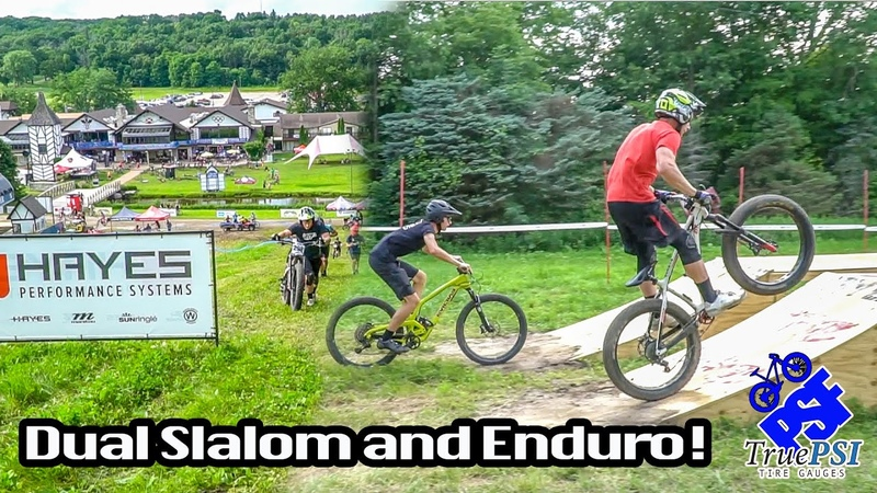 Racing Dual Slalom and Enduro on a Fatbike! 2019 WORS Cup at Alpine Valley