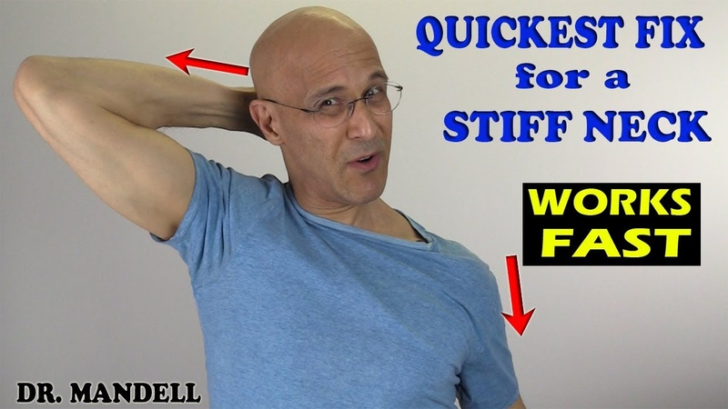Quickest Fix for a Stiff Neck (WORKS FAST!) - Dr Alan Mandell, DC