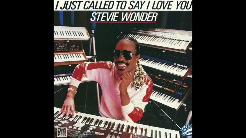 Stevie Wonder I Just Called To Say I Love You Rubén Coslada Remix