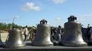 Вглавном храме Вооруженных сил России начали устанавливать колокола отлитые вВоронеже Новости Первый канал