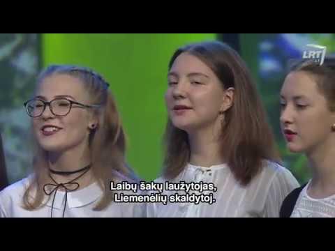 Folkloro Ansamblis Gilė – Ai, Ąžuole, Ąžuolėli (Live @ LRT Duokim Garo)