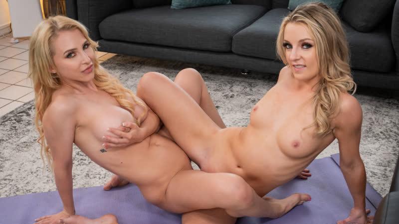 Alix Lynx, Kate Kennedy Lesbian Yoga Training, Lesbian Sex Big Tits Pussy Licking Brazzers Porn Порно
