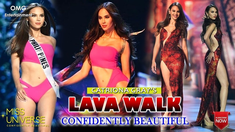LAVA WALK SLOW AND FAST CATRIONA GRAY MISS UNIVERSE 2018 @ OMG ENTERTAINMENT