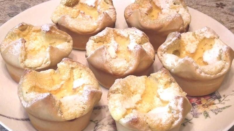 Пирожное Соффиони / Italian cakes Soffione (English subs)