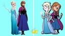 Принцессы Диснея в стиле Время Приключения