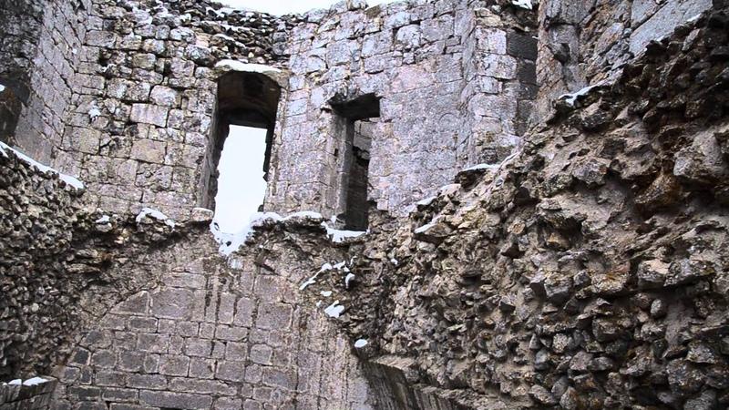 Замок Монсегюр - Храм Солнца; Montsegur castle - The temple of the Sun FULL HD