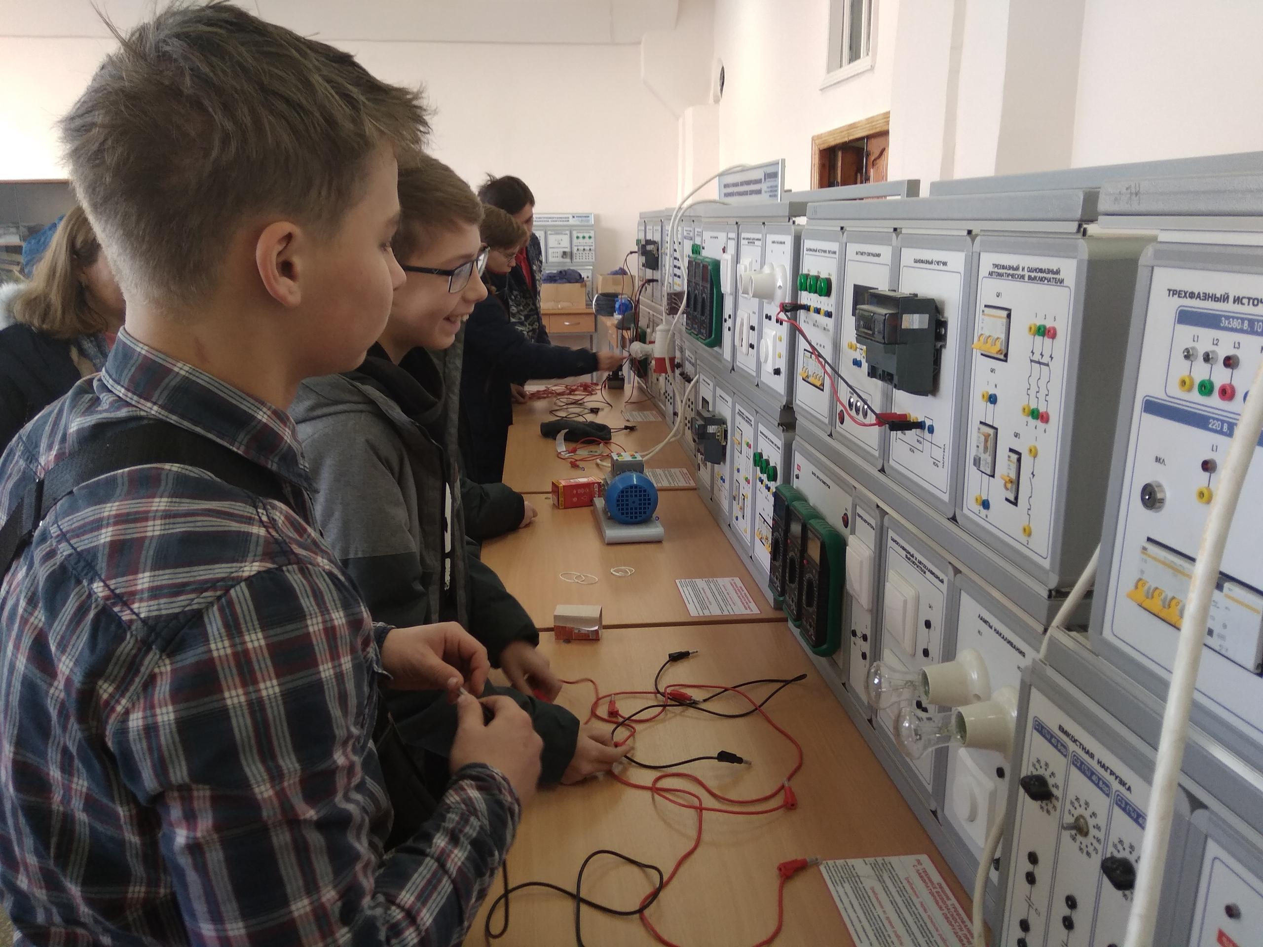 Инженерная суббота в  ОГАПОУ «Губкинский горно-политехнический колледж»