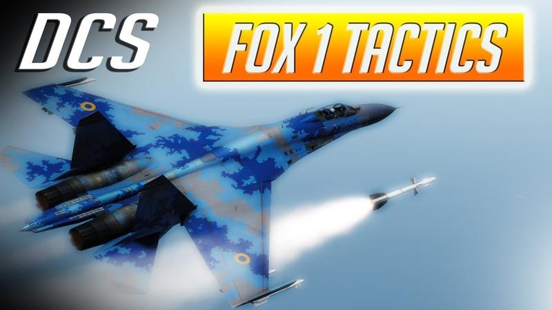 DCS: Fox-1 Semi Active Radar Tactics in the Su-27 Flanker