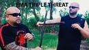 Filipino Martial Arts Triple Threat Pekiti Tirsia, Balintawak, NSI