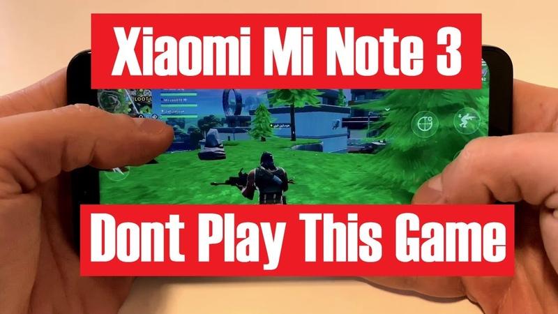 Fortnite на Android: первый запуск игры на Xiaomi mi note 3. Первое место в королевской битве