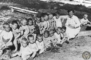 Детские концентрационные лагеря