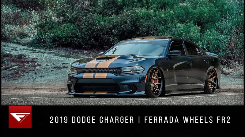 2019 Dodge Charger | Muscle Beach | Ferrada Wheels FR2