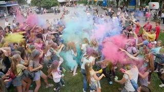 Фестиваль барв Холі Color Day у Білій Церкві