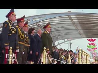 """Лукашенко поёт """"День победы"""""""