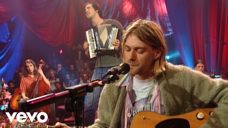 Nirvana - Jesus Doesnt Want Me For A Sunbeam (Live On MTV Unplugged, 1993 Unedited)