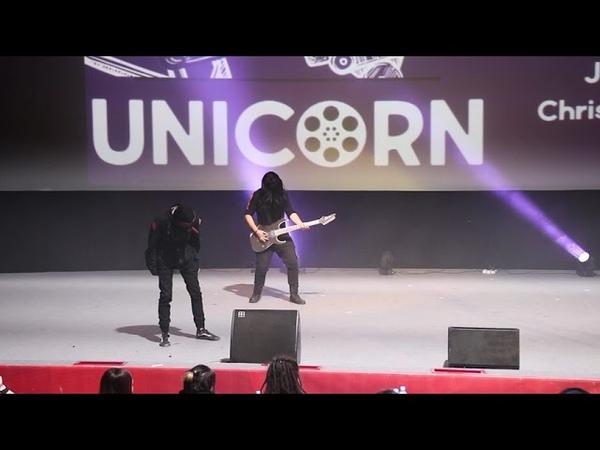 Slipknot - Jim Root, Corey Taylor, Chris Fehn, Mick Thomson - Командное дефиле - UNICORN 2019