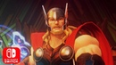 Marvel Ultimate Alliance 3:The Black Order - Thor Trailer Nintendo Switch HD