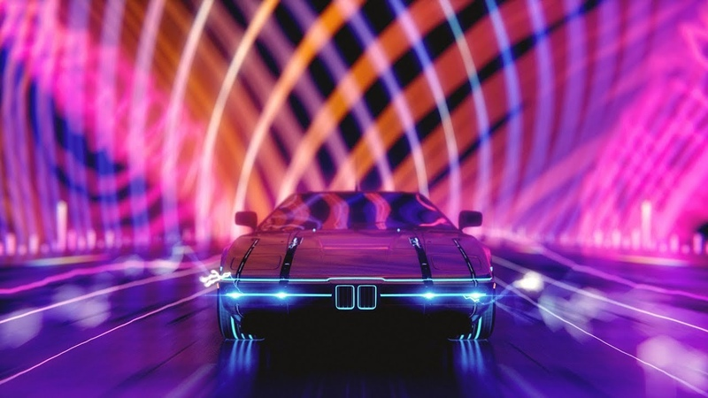 ~ N I G H T D R I V E ~ A Synthwave Music Video Mix Chillwave Retrowave