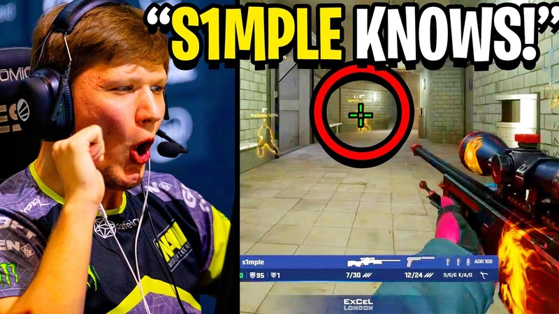 S1MPLE'S GAME SENSE IS SO GOOD YOU MAY THINK IT IS WALLHACK Twitch Recap CSGO