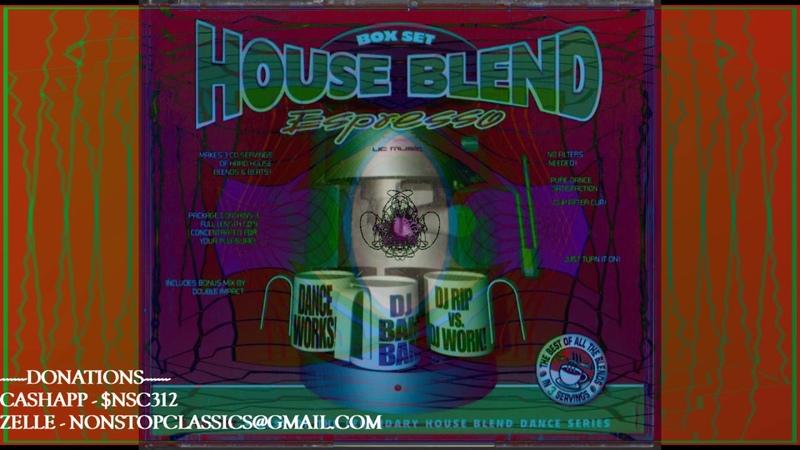 House Blend Box Set Volume 5 CD 3 DJ Rip Double Impact Full Mix mixtape megamix housemusic