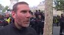 Les pompiers normands manifestent à Paris