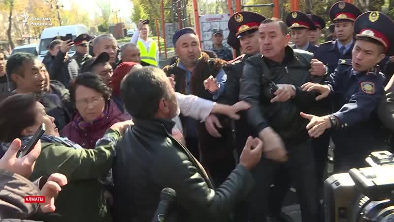Қазақстанның бірнеше қаласында полиция ондаған азаматты ұстады