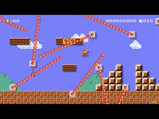 Mario maker is a fun videogame for entire family