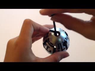 Smart egg labrinth puzzle