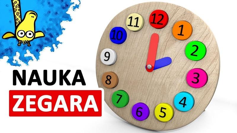 Nauka zegara dla dzieci Zegar dla dzieci CzyWieszJak