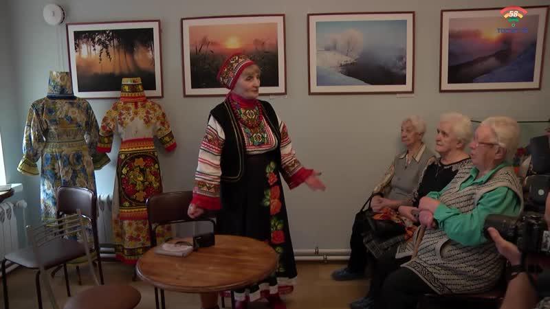 В Тосненском музее состоялась встреча с автором выставки Мир глазами женщины Е Планиной
