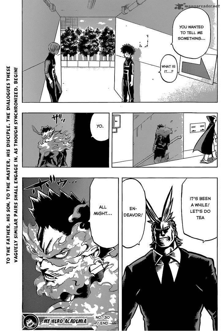 Boku No Hero Academia, Chapter 30, image #23