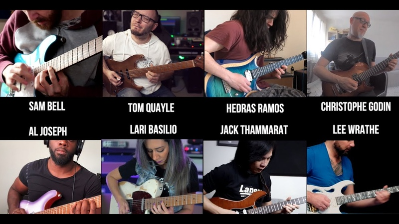 Tom Quayle | Lari Basilio | Jack Thammarat and more! Laney Amps Lockdown Mega Jam!