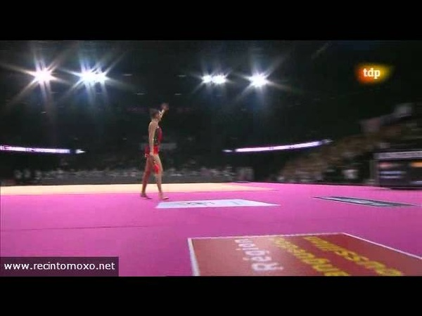 Eugenia Kanaeva Clubs Final World Championships Montpellier 2011 AUDIO PROBLEMS SOLVED