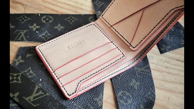 Making a D I Y Louis Vuitton Wallet