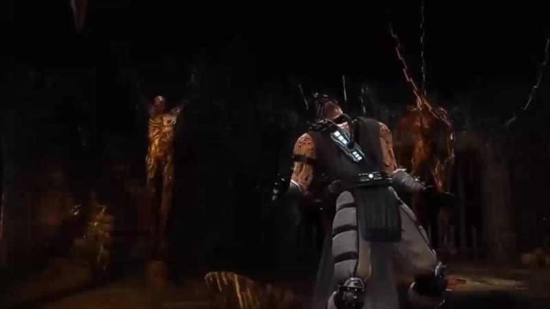 Mortal Kombat 9 Kabal Fatality 1 2 Stage And Babality HD 0 mp4
