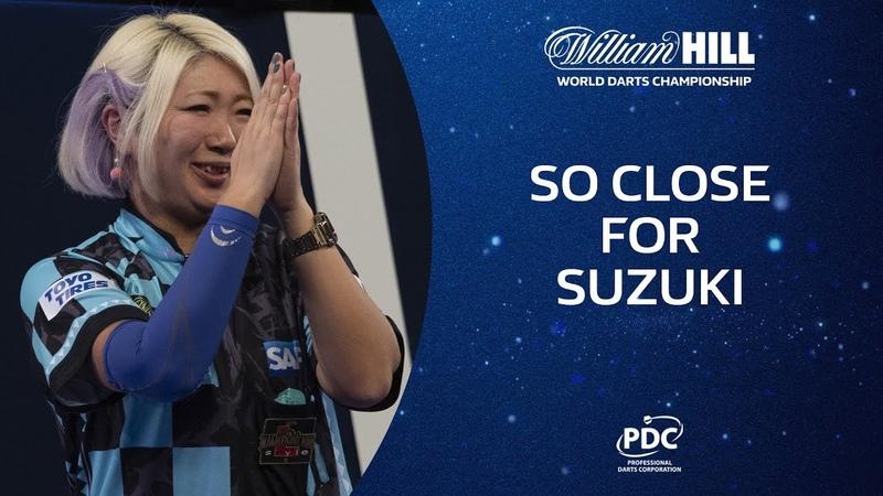 MIKURU SUZUKI COMES CLOSE AT ALLY PALLY 2019 20 World Championship