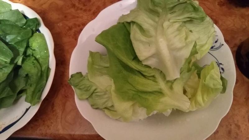 Ciorbă de salată și spanac de post
