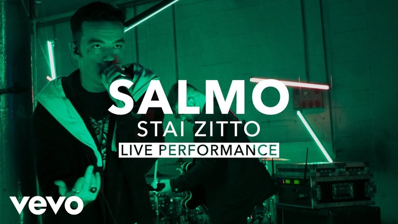 Salmo - STAI ZITTO (Official Live Performance) | Vevo X